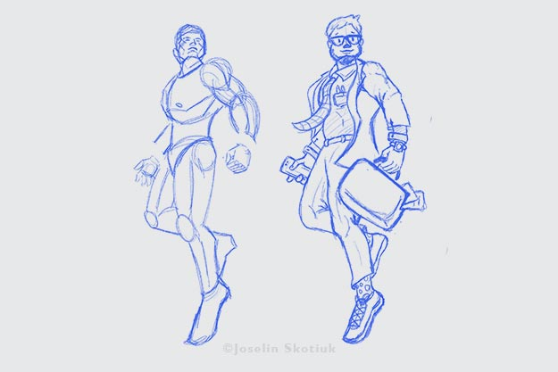 accountant-character-sketch