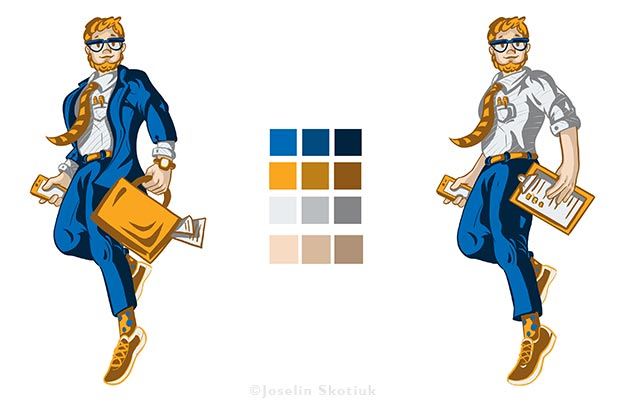 accountant-character-coloring