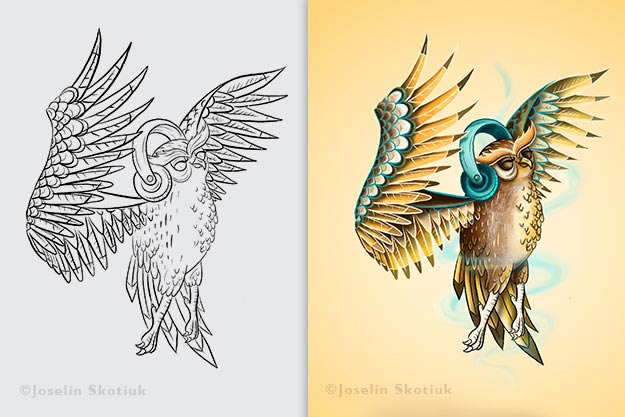 whimsical-owl-coloring