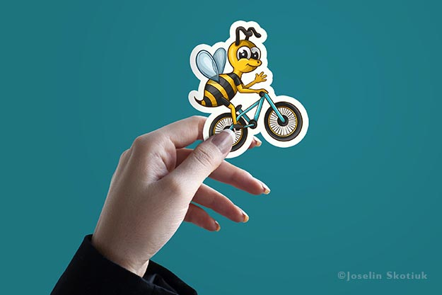 professional-bmx-bee-sticker