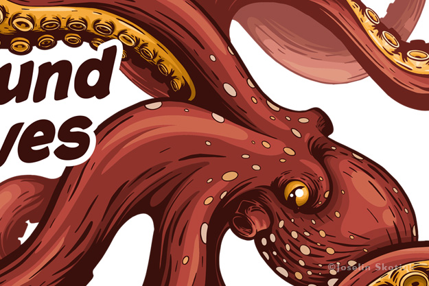 octopus-and-fish-waves-detail