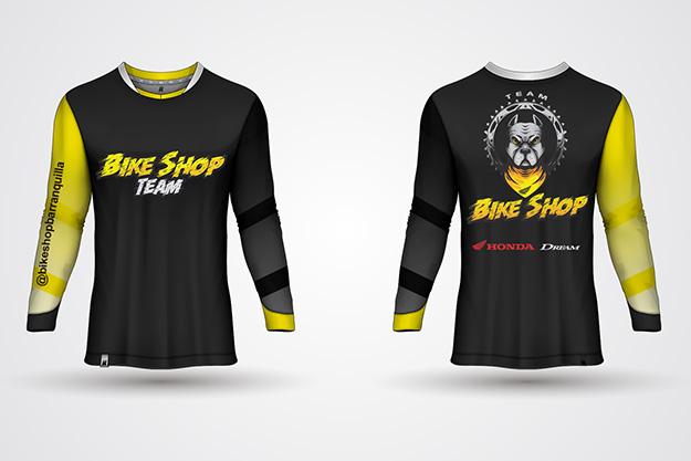 pitbull-dog-mascot-illustration-for-honda-dream-motorcycle-shirt